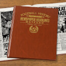 Watford Newspaper Book - Brown Leatherette