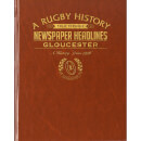 Gloucester Rugby Newspaper Book - Brown Leatherette