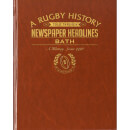 Bath Rugby Newspaper Book - Brown Leatherette