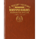 Warrington Rugby Newspaper Book - Brown Leatherette