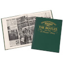 The Beatles Newspaper Book - Racing Green Leatherette