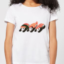 Panda Sushi Women's T-Shirt - White