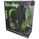 Rick and Morty Pickle Rick Wired Headphones (With Mic)
