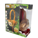 TabZoo Plush Monkey Childrens Wired Headphones