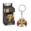Game of Thrones Regular Viserion Pop! Keychain