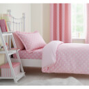 Catherine Lansfield Daisy Dreamer Cotton Rich Duvet Set - Pink