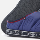 Tommy Hilfiger Men's Flag Patch Down Slippers - Blue