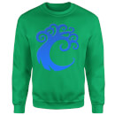 Magic The Gathering Simic Symbol Sweatshirt - Kelly Green
