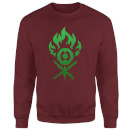 Sweat Homme Symbole de Gruul - Magic The Gathering - Bordeaux