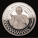 "Hot Fuzz ""For The Greater Good"" Collector's Limited Edition Coin: Silver Variant"