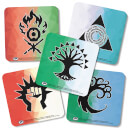 Magic The Gathering Guilds Of Ravnica Coaster Set