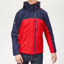 Superdry Men's Arctic Exon Hooded Windcheater - Red/White/Blue