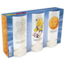 Dragon Ball Set of 3 Glasses