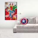 Marvel Captain America Shield Cushion