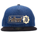Fallout Men's Vault 76 Badge Snapback - Navy