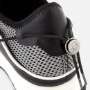 Karl Lagerfeld Men's Vektor Karl Band Net Runner Style Trainers - Black/White
