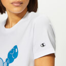 Champion X WOOD WOOD Women's Lyn Crew Neck T-Shirt - White