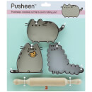 Bake a Pusheen: Cookie Cutters and Rolling Pin Set