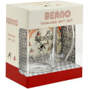 Beano Glass Tankard and Coasters Gift Set