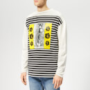 JW Anderson Men's G+G Transfer Print Top - Off White