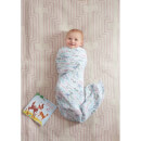 aden + anais Classic Swaddle 4 Pack Bambi