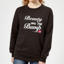 Big and Beautiful Beauty and The Bump Women's Sweatshirt - Black