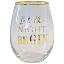 Let the Night Be Gin Glass Tumbler
