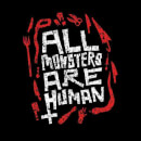 American Horror Story All Monsters Are Human Tools Men's T-Shirt - Black