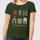 American Horror Story Some Doors Quote Women's T-Shirt - Forest Green