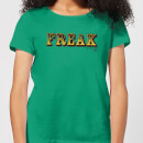 American Horror Story Freak On The Inside Women's T-Shirt - Kelly Green