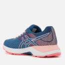 Asics Women's Running Gel Pulse 10 Trainers - Grand Shark/Baked Pink