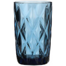 Boulogne Long Glass Tumbler - Blue