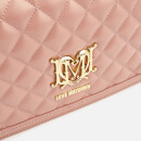 Love Moschino Women's Quilted Shoulder Bag - Pink