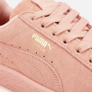 Puma Women's Suede Classic Trainers - Peach Bud/Puma Team Gold