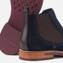 Ted Baker Men's Secaint Suede Chelsea Boots - Dark Blue