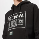 Champion X WOOD WOOD Men's Ed Hooded Sweatshirt - Black