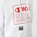 Champion X WOOD WOOD Men's Hooded Sweatshirt - White