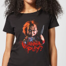 Chucky Wanna Play? Women's T-Shirt - Black