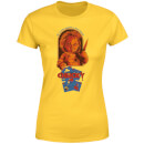 Chucky Out Of The Box Women's T-Shirt - Yellow