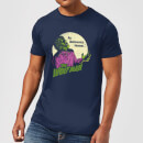 Universal Monsters The Wolfman Retro Men's T-Shirt - Navy