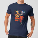 Universal Monsters The Mummy Vintage Poster Men's T-Shirt - Navy