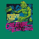 Universal Monsters Creature From The Black Lagoon Retro Men's T-Shirt - Kelly Green