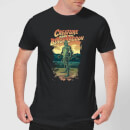 Universal Monsters Creature From The Black Lagoon Illustrated Men's T-Shirt - Black
