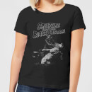 Universal Monsters Creature From The Black Lagoon Black and White Women's T-Shirt - Black