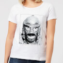 Universal Monsters Creature From The Black Lagoon Portrait Women's T-Shirt - White