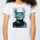 Universal Monsters Frankenstein Glitch Women's T-Shirt - White