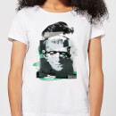 Universal Monsters Frankenstein Collage Women's T-Shirt - White