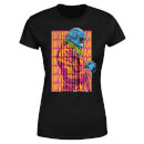 Universal Monsters Invisible Man Retro Women's T-Shirt - Black