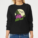 Universal Monsters The Wolfman Retro Women's Sweatshirt - Black
