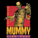 Universal Monsters The Mummy Retro Sweatshirt - Black